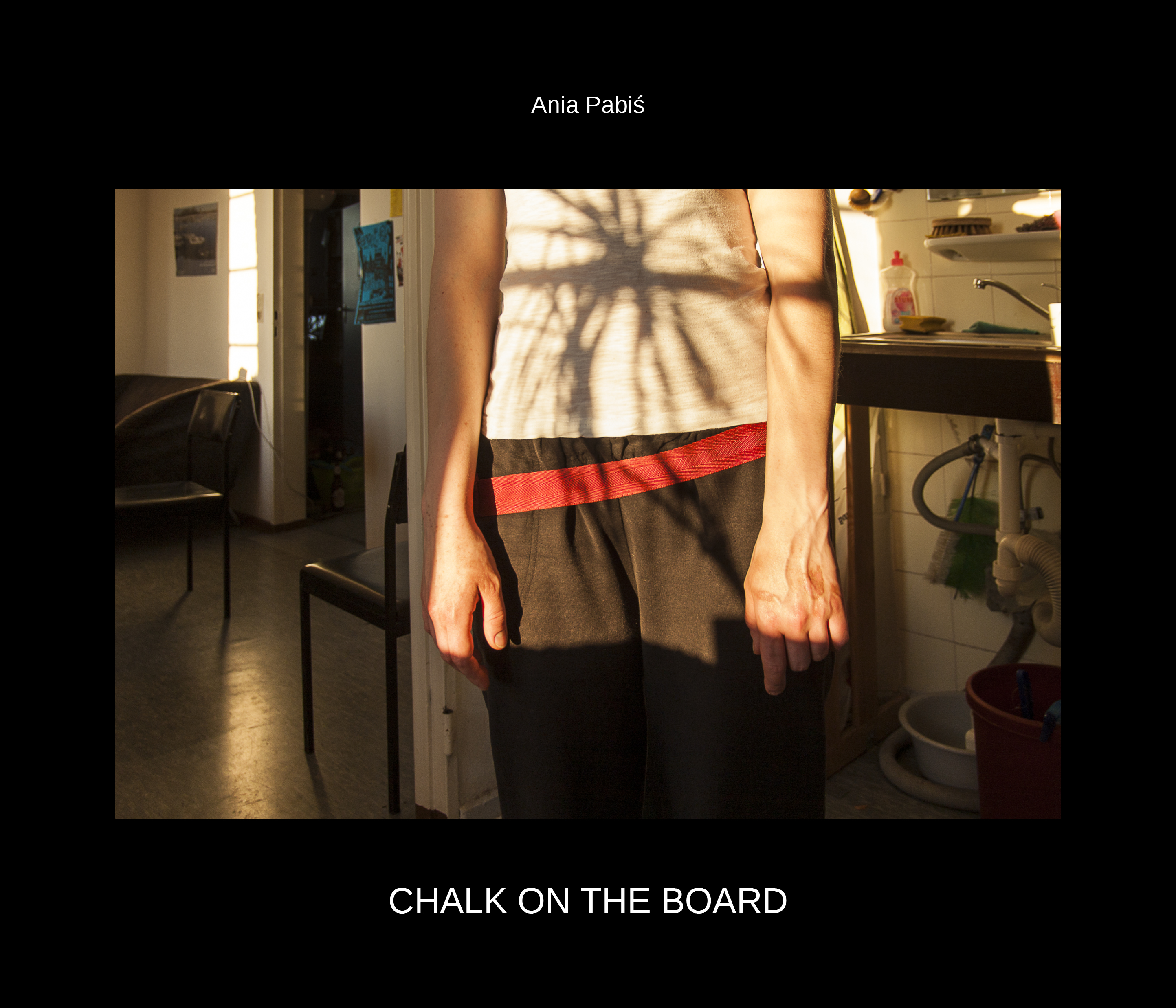 Chalk on the board- photo book